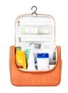 Multifuncional Travel Cosmetic Bag Colchão Toiletry Makeup Pouch Woman Men's Wash Case Organizador Acessórios Suprimentos Resistente à água com bolsos de malha Sturdy Hanging Hook Shower Bag Large Capacity Bathroom Shaving Kit