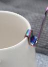 Cucchiaino simpatico sirena 304 cucchiaino in acciaio inox manico lungo cucchiai caffè Dessert zuccherato antipasto condimento bistrot posate tazzina pensile scooper utensili da cucina gadget argento