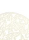 10pz carta di invito alla festa matrimonio romantico delicato scolpito Butterlies Pattern