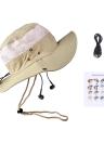 Neue Mode Unisex kariert Bluetooth Sonne Hüte Hut mit großer Krempe Sommer Bluetooth Musik Hut kabellose Freisprech-Smart Cap Kopfhörer Kopfhörer Lautsprecher Mic