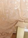 Tenda per finestra superiore in gommapiuma semi-oscurante in poliestere da 39 * 98 pollici