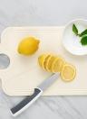 Faltbare Schneidebrett antimikrobielle Anti-Rutsch-Faltbretter Küche Prep Mat mit Anti-Rutsch-Füße Warm Grey
