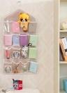 16 Grid Wardrobe Hanging Organizer Underwear Bras Socks Ties Custodia per porta