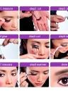 Anself 5 Paare falsche Wimpern Pure handgemachte dicke lange voluminöse falsche Wimpern