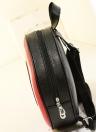 Moda homens mulheres mochila saco redondo estrela estudante Unisex saco vermelho grande
