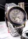 Jaragar Automatic Hand-winding Mechanical Analog Display Wrist Watch