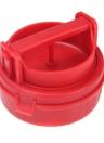Hamburguesa rellena Burger prensa molde plástico novedad cocina compacta herramienta rojo