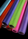 Voile Stiff Fabric Roll Sheer Table Swag for Wedding Party Decoration Green