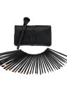 Maquiagem profissional 35Pcs pincéis Kit cosmético compõem conjunto punho de madeira pó da sombra escovas sobrancelha escova + bolsa saco caso