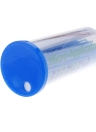 100 PCes Dental descartável Micro aplicador escova dobrável azul