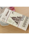 Fashion Colorful Tower Print PU Leather Wallet Card Holder Clutch Bag