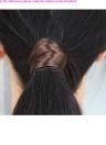 Peruca cabelo banda corda Hairband acessórios peruca sintética elástica Headwear