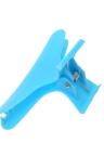 12pcs moda plástico colorido cabeleireiro ferramenta borboleta cabelo garra salão seção Clip braçadeiras