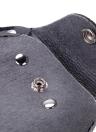 Cuir Barber Scissor Coiffure Holster Pouch Holder Cas Rivet Clips Sac avec Ceinture Taille Épaule