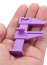 Belleza uñas trabajo localizar Clip de plástico del clavo herramienta de posicionamiento