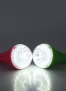 Luz de LED solar com 2pcs lâmpada lâmpada 5W iluminação prático sistema para uso acampamento ao ar livre do pátio