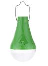LED Lumière Solaire avec 2pcs Ampoules Lampe 5W Système d'Eclairage Pratique pour l'Utilisation au Cour ou de Camping à l'Extérieur