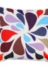 Bunte Farbe passender Baumwolle und Leinen Kissenbezug zurück Kissen Throw Kissen Hülle für Bett Sofa Auto dekorative Hauptdekor 45 * 45cm