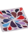 Colore variopinto di corrispondenza cotone e lino federa indietro cuscino copertina Throw Pillow caso per decorativa letto divano auto Home Decor 45 * 45cm