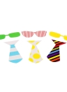 22Pcs Photo Props Mask Set for Wedding Christmas Birthday Party Beard Glasses Tie Crown Creative Decoration