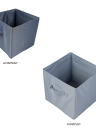 Durable Lightweight Foldable Storage Bag Multifunctional Storage Box for Cosmetic Jewelry Clothes Toys