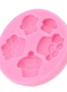 Anself Silicone Cake Fondant Mould Chocolate Sugar Pastry Mold Sugarcraft Cake Baking Decorating Tool