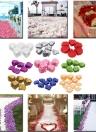 1000 PCS Beautiful Perfect Wedding Simulation Flower Petals Romantic Vivid Artificial Rose Flower for Wedding Party Decoration