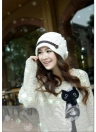 New Winter Women Beanie Chunky Knit Baggy Hat Headwear