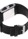 Led Digital Watch Com tiras de couro