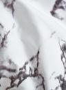 Мягкий полиэфирный матовый комплект из микроволоконного пододеяльника с застежкой-молнией Мраморный узорный пододеяльник + 2 шт. Наволочки - размер Twin
