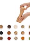 Wooden Grinder Pepper Manuel Portable Muller Spice Mill Shaker Cuisine sel Assaisonnement Grinding outil