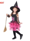 Costumes Festnight Princesse mignonne robe de fée sorcière Halloween enfants Skirt Suit Cosplay Sorceress Danse Vêtements Costume Party