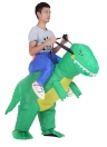 Carino adulti dinosauro gonfiabile costume vestito Air ventola azionata Walking vestito operato Halloween Party Outfit T-Rex gonfiabile Animal Costume