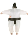 Carino vestito per adulti gonfiabile Sumo costume con Air azionato il ventilatore vestito operato Halloween Party Cosplay Outfit Fat gonfiabile costume Wrestler