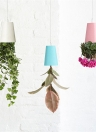 Creative Plastic Inverted Upside Down Hanging Flower Plant Pot Planter Home Decoration