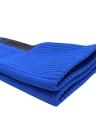 2 Pairs Men's Breathable Wicking Knee High Soccer Socks Sport Athletic Compression Football Socks for US 7.5-10.5 / UK 6.5-9.5 / EU 40-46 Black