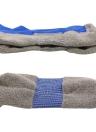 2 Paar Männer atmungsaktive Wicking Knie High Soccer Socken Sport Athletic Kompression Fußball Socken für US 7.5-10.5 / UK 6.5-9.5 / EU 40-46 Schwarz
