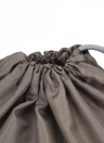 4pcs / lot Set Voyage Sac de Rangement Étanche Nylon Cordon Poche Hommes et Femmes Pliant Vêtements Organiseurs Classifiés D'emballage Chaussures Bagages Sacs (Jaune)