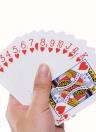 Cartes à jouer Cartes de poker originales Deck pour Magician jouant au jeu de cartes Collection (Bleu)