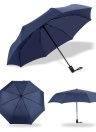 Fine-quality Automatic Tri-fold Umbrella Men and Women Gift Business Folding Umbrella