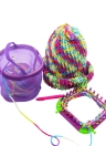 Mesh Storage Bag Yarn Case Basket Knitting Portable Lightweight Knitting Accessories Woolen Crochet Box