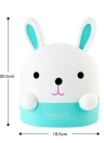 Creative Living Room Cartoon Cute Rabbit Shaped Napkin Paper Towel Box Tissue Roll Paper Holder Cover RB264