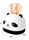 Creative Tissue Box RB281 Cute Panda Paper Box Restaurant Plastic Paper Towel Box Holder Cover