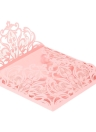 10Pcs Romantic Wedding Party Invitation Card Delicate Carved Pattern