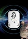 Electronic Ultrasonic/Electromagnetic Wave Mouse Repeller Rat Repellent Pests Repelling with Nightlight Adjustable Wave Frequency