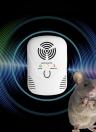 Электронный ультразвуковой / электромагнитная волна мышей Отпугиватель крыс репелленты отталкивающих Вредители с ночником регулируемой частотой волны