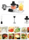 Homgeek 210-240V Handheld Multi-functional Stirrer 850W Immersion Hand Blender Set Practical Mixer Mini Chopper All Kitchen Purpose