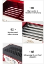 Nostalgia Old Fashioned Household Hot Dog Roller Grill Hotdog Maker Hot-dog Barbecue BBQ Machine Sausage Grill 5 Rollers 220-240V
