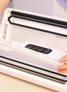 REELANX Бытовая автоматическая вакуумная машина Sealer Fresh Food Saver Вакуумная упаковочная машина для упаковки с вакуумными мешками всасывающей трубы AC100-220V
