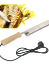 Stainless Steel Electric Scraping Bee Honey Extractor Uncapping Hot Knife Beekeepers Tool for Beekeeping US Plug 110V-220V